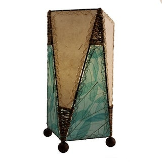 Trapezoid Table Sea Blue Lamp (Philippines)