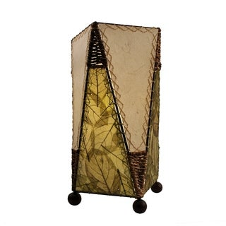 Trapezoid Table Green Lamp (Philippines)