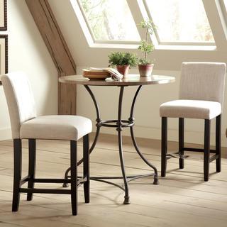 Frederique French Bistro Design Counter Height Pub Set