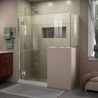DreamLine Unidoor-X 59 in. W x 36.375 in. D x 72 in. H Hinged Shower Enclosure
