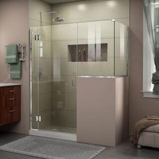 DreamLine Unidoor-X 58 in. W x 36.375 in. D x 72 in. H Hinged Shower Enclosure