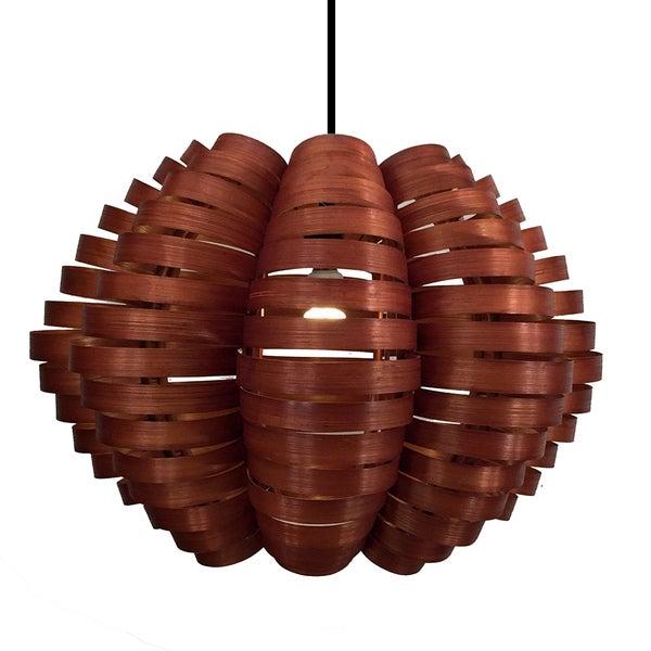 Bamboo Tulip Pendant Lamp (Philippines)