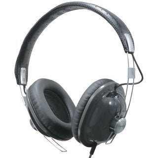 Panasonic Retro Over-the-Ear Monitor Headphones RP-HTX7-K1 (Black) Dynamic Accurate Sound, Lightweight and Comfortable