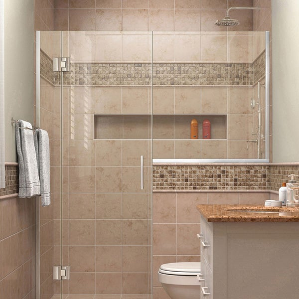 DreamLine Unidoor-X 57 - 57.5 in. W x 72 in. H Hinged Shower Door