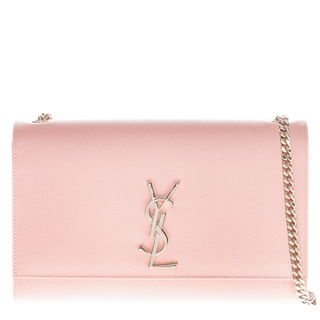 Yves Saint Laurent Kate Pink Satchel with Gourmette Chain Strap