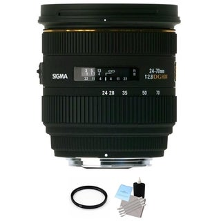 Sigma 24-70mm f/2.8 IF EX DG HSM Autofocus Lens for Canon