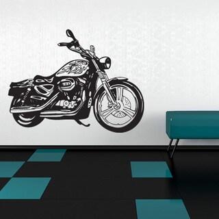 Motorcycle Ii Vinyl Mural Wall Decal