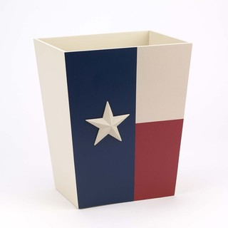 Texas Star Waste Basket