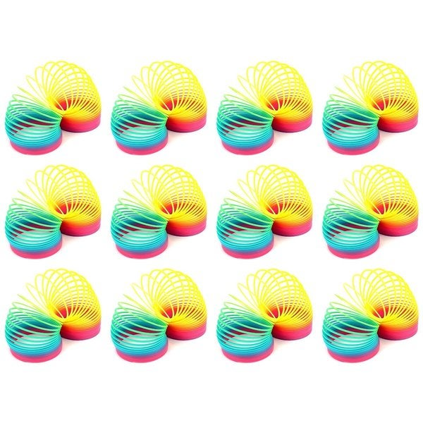 Velocity Toys Rainbow Magic Spring Toy Novelty Springs (Set of 12) 18063848