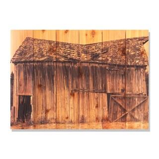 Old Barn 33x24 Indoor/ Outdoor Full Color Cedar Wall Art