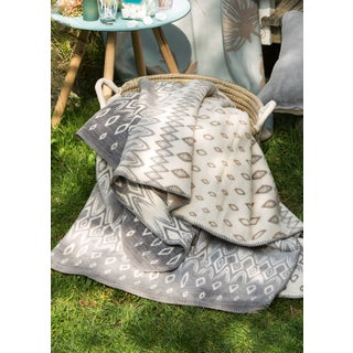 Sorrento Bohemian Oversized Throw Blanket with Whipstitch