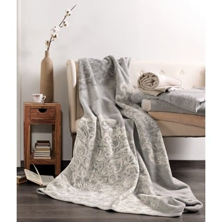 Solare Dollies Plush Oversized Throw Blanket
