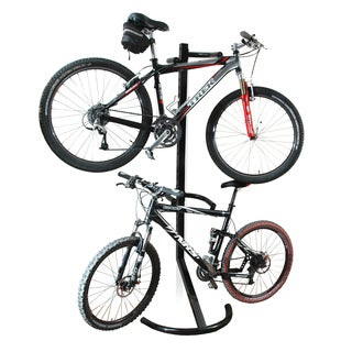 RAD Cycle Gravity Bike Stand Bicycle Rack Storage or Display Holds Two Bicycles