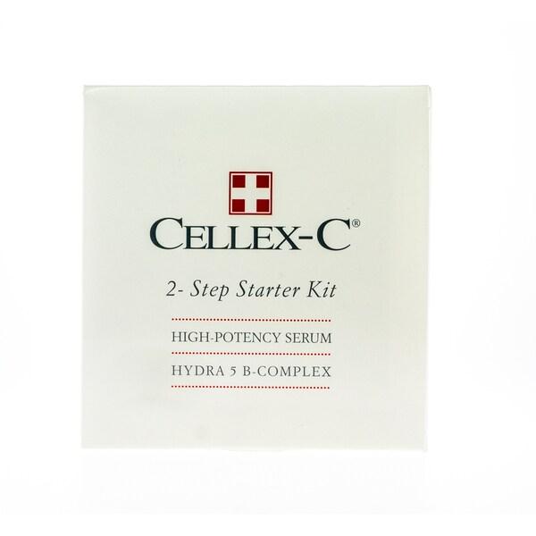 Cellex-C 2 Step Starter Kit 4.8-ounce High-Potency Serum Hidra 5 B-Complex