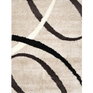 Home Dynamix Synergy Collection Beige (7'8 x 10'4) Polypropylene Machine Made Area Rug