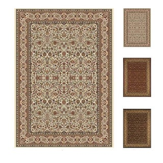 Home Dynamix Regency Collection Traditional (7'10X10'2) Machine Made Polypropylene Area Rug