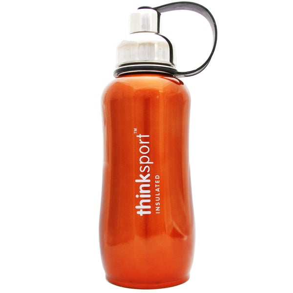ThinkSport Metallic Orange 25-ounce Insulated Bottle