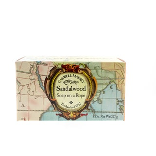 Caswell-Massey 8-ounce Sandalwood Soap On A Rope