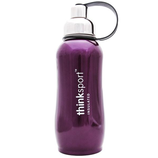 ThinkSport Metallic Purple 25-ounce Insulated Bottle