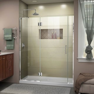 DreamLine Unidoor-X 57 1/2 - 58 in. W x 72 in. H Hinged Shower Door