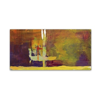 Pat Saunders-White 'Crossing Over' Canvas Art