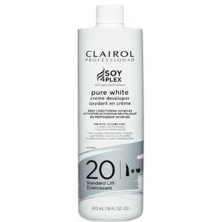 Clairol Pure White 20 Creme Developer 16-ounce Standard Lift