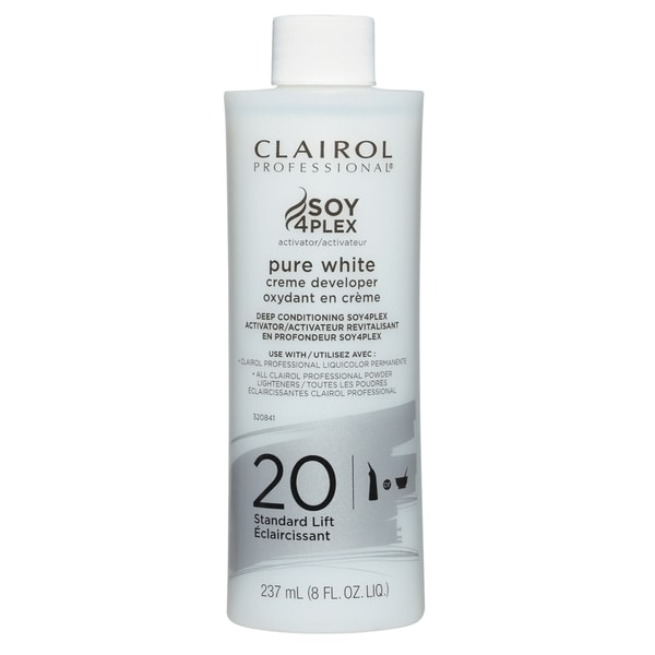 Clairol Professional Soy4plex Pure White Creme Hair Color Developer 20 Volume