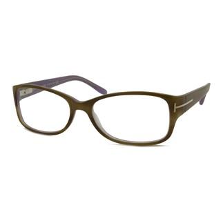 Tom Ford Women's TF5143 Rectangular Reading Glasses