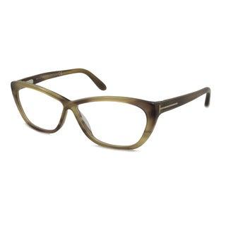 Tom Ford Women's TF5227 Rectangular Reading Glasses