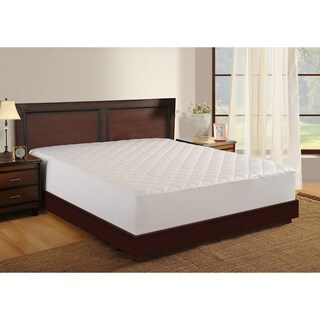 Haven 400 Thread Count Wrinkle-free Stain Release Mattress Pad