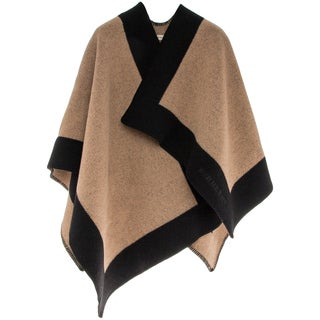 Burberry Block Border Shawl