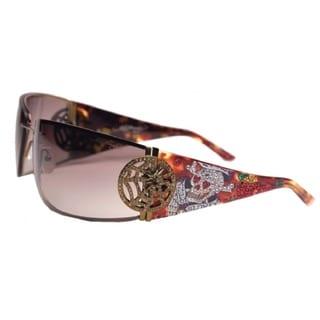 Ed Hardy Ehs-039 Love Kills Slowly 3 Tortoise/ Brown Sunglasses
