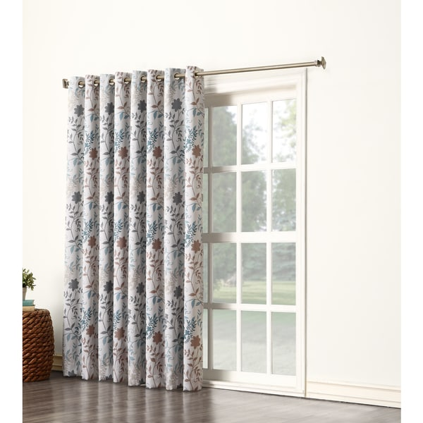 Orange And Blue Striped Curtains Entry Door Curtain Rods