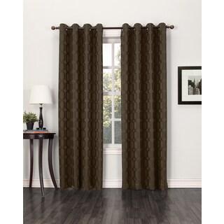 Sun Zero Tane Grommet Blackout Window Curtain Panel