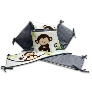 Nemcor Baby's First Hangin' Around Versatile Crib Bumper
