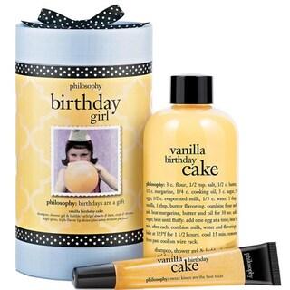 Philosophy Birthday Girl Vanilla Birthday Cake 2-piece Set