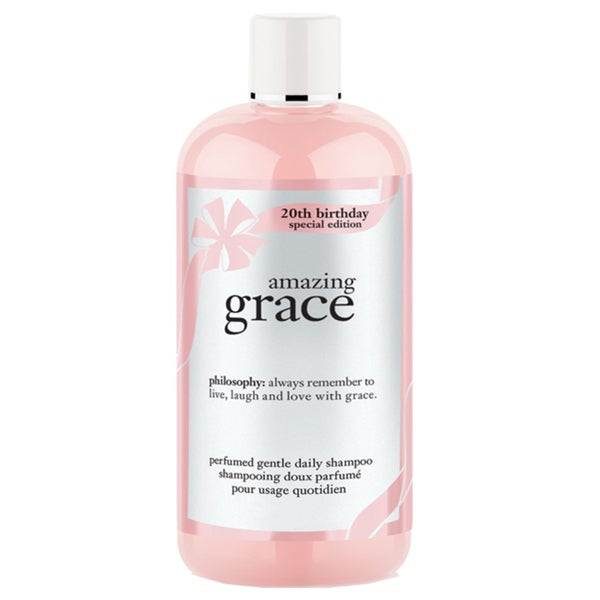 Philosophy Amazing Grace Perfumed Gentle Daily 16-ounce Shampoo 20th Birthday Special Editon