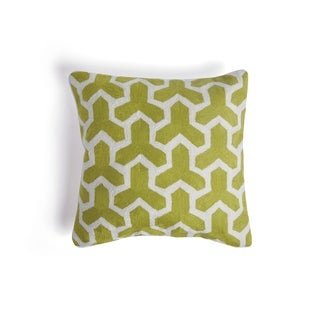 Hip Vintage Lime Green Adella Accent Pillow