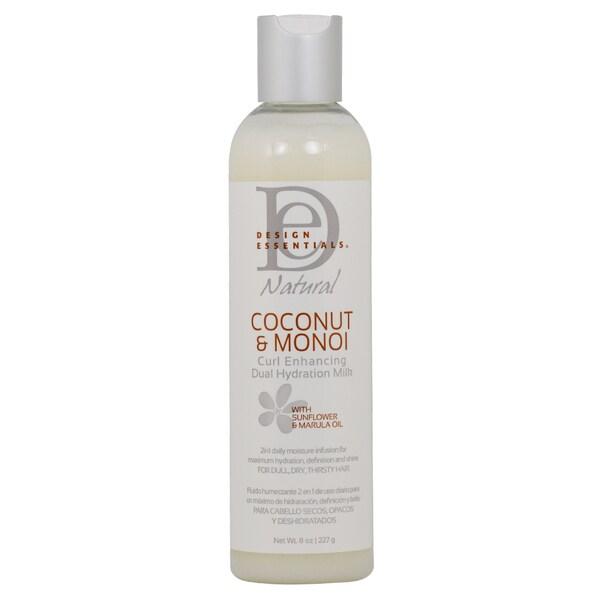 Design Essentials Coconut and Monoi Curl Enhancing 8 oz. Hydration Milk