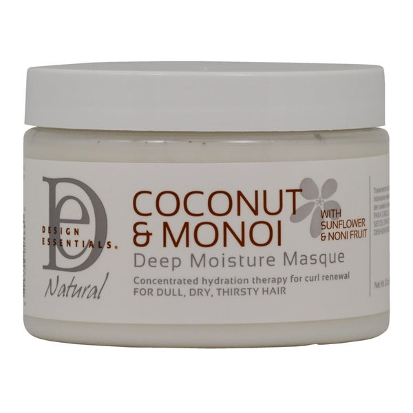 Design Essentials Coconut and Monoi Deep Moisture 12-ounce Masque