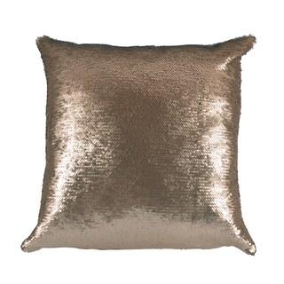 Mermaid Gold/Ivory 17X17 KE Fiber Pillow