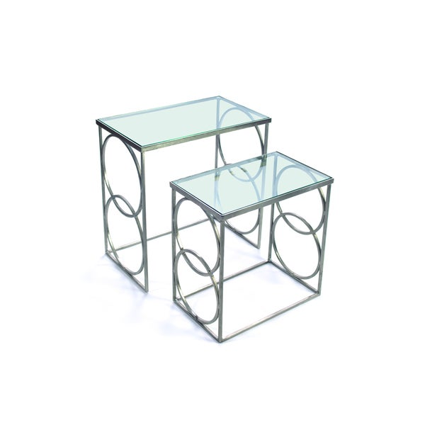 Rosetta Rectangular Nesting Tables