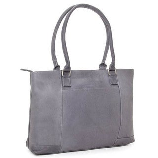 LeDonne Leather Womens 15.4-inch Laptop Tote