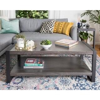 Carbon Loft Hamilton 48-inch Charcoal Urban Blend Coffee Table