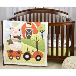 Baby's First by Nemcor McDonald's Farm 3-piece Crib Bedding Set
