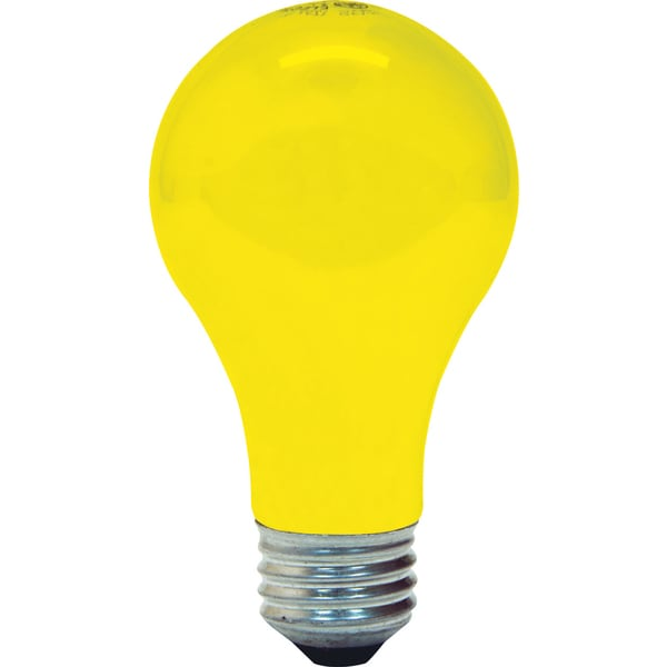 GE Lighting 61435 2-count 90 Watt Yellow Bug Lite