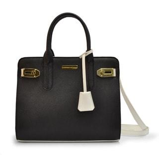 Adrienne Vittadini Jackie O Satchel Handbag