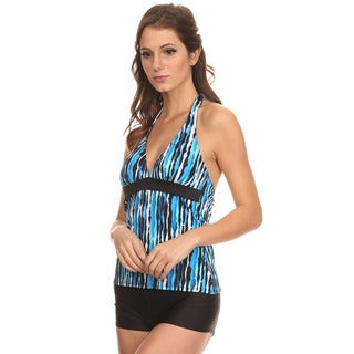 Dippin' Daisy's Blue River Halter Tankini with Boyshorts