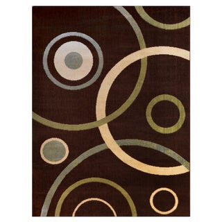 Home Dynamix Optimum Collection Brown (7'8 X 10'4) Polypropylene Machine Made Area Rug