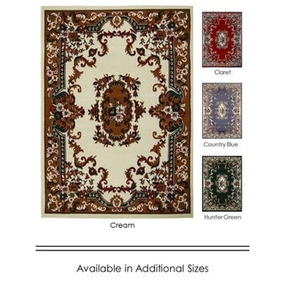 """Home Dynamix Premium Collection Traditional (7'8"""" X 10'7"""") Polypropylene Machine Made Area Rug"""
